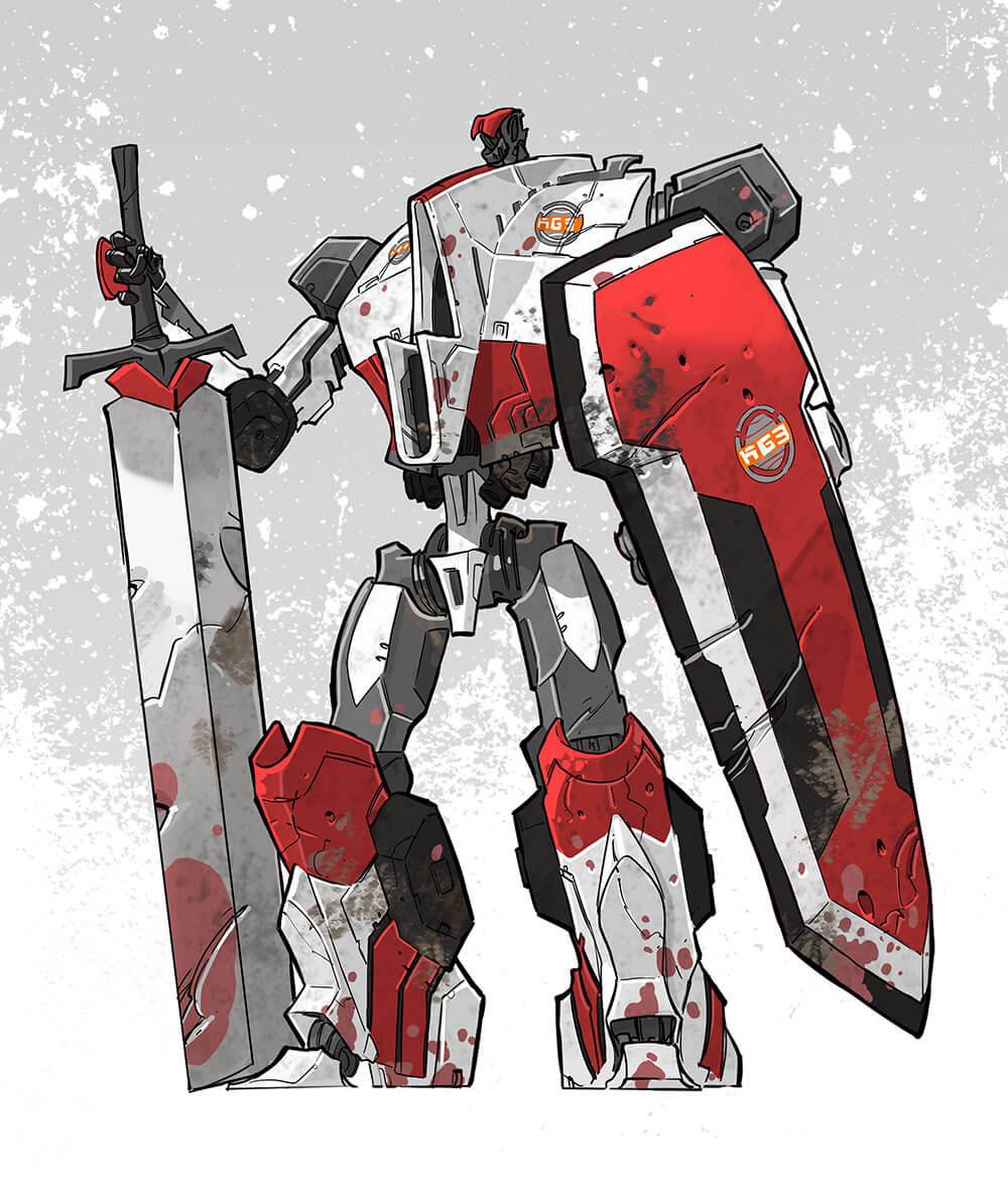 Tsukuyumi - Kampfgruppe 03- frakcja