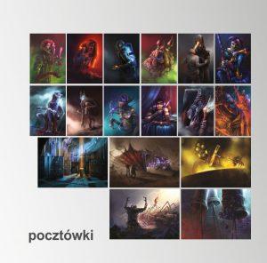 Echo Światów - Zestaw Pocztowki