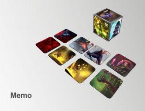 Echo Światów - Zestaw Memo